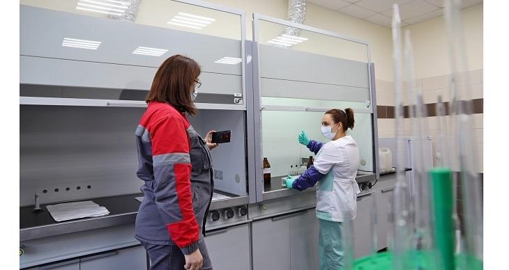 Санитарно-промышленная лаборатория Волгоградского алюминиевого завода РУСАЛа прошла аккредитацию онлайн