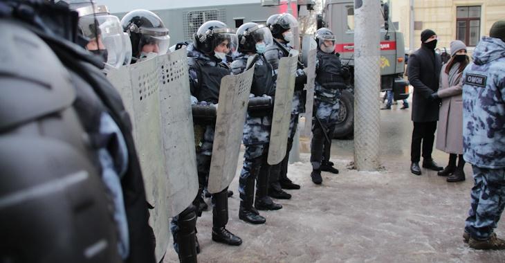 Задержания начались на незаконной акции протеста в Волгограде (ВИДЕО)